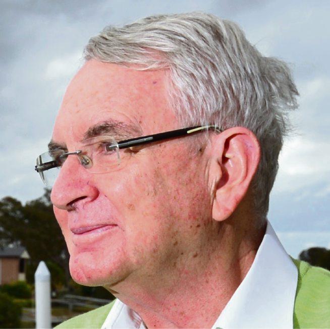 Father Joe Duffy at his home.  Photo: John McCutcheon / Sunshine Coast Daily
