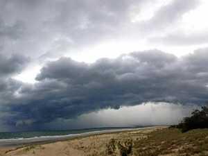 Change in weather pattern after hail, heavy rain