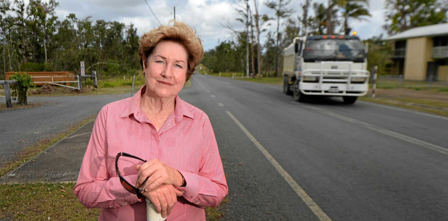 Glenda Mather was kicked out of a council meeting this week for not acting in the proper manner. Photo: Chris Ison / The Morning Bulletin