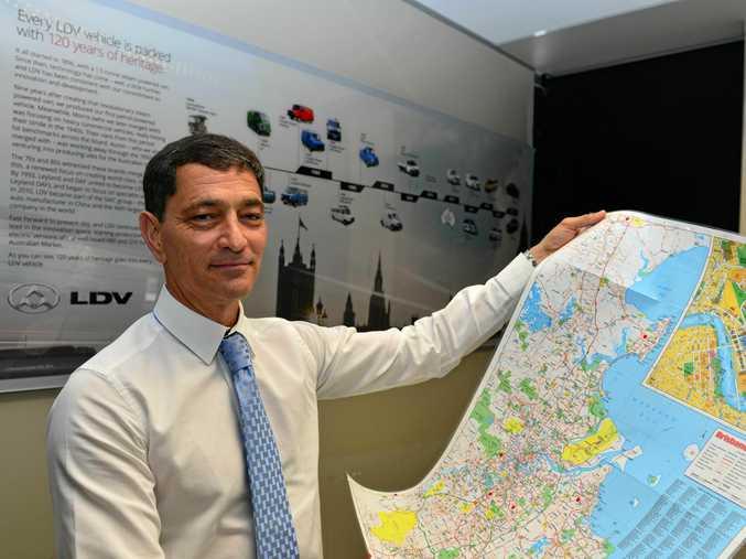 LDV Australia's general manager Dinesh Chinnappa.