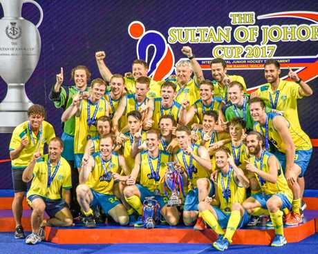 The Australian U21 men's team, including Toowoomba goal keeper Matthew Finn, wins gold at the Sultan of Johor Cup in Johor Bahru, Malaysia.