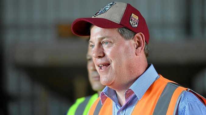 Queensland opposition leader Tim Nicholls.