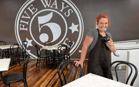 5 Ways Cafe manager Sally Wright.