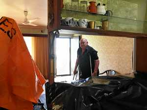 Wind rips roof from pensioner's house