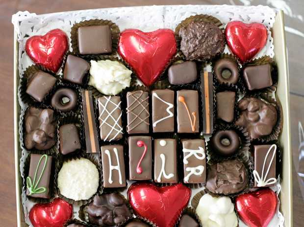 SWEET: Plenty of parents opt for chocolates as gifts for teachers.