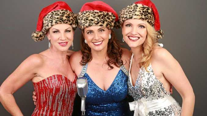 JAZZ FUN: The Kitty Kats Michelle Brown, Susan Campbell and Renae Suttie.