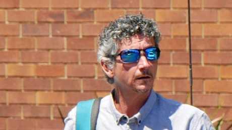 Jason Bridge, 47, of Torquay, leaves Hervey Bay District Court.