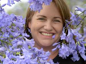 Donna says goodbye to the Jacaranda Festival