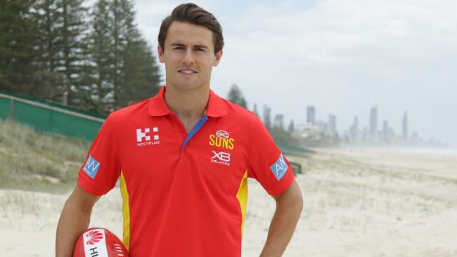 Gold Coast Suns recruit Lachie Weller. Photo credit: Gold Coast Suns.
