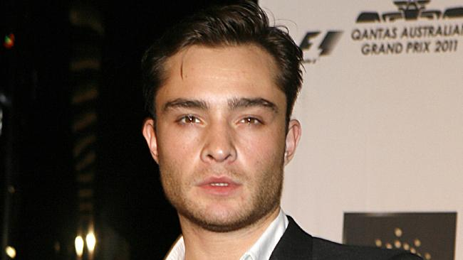 Ed Westwick has denied rape claims. Picture: Supplied