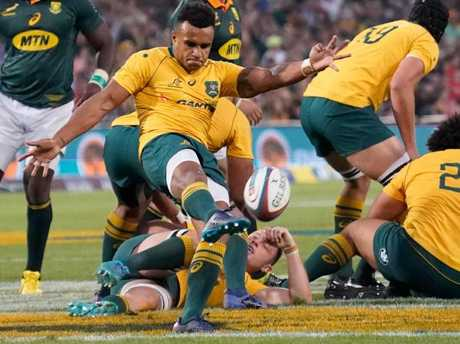 Wallabies scrumhalf Will Genia.