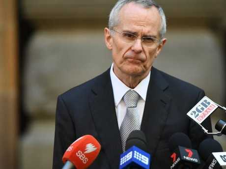 Australian Competition and Consumer Commission chairman Rod Sims has sent a warning to the telcos in regard to their advertised NBN speeds. Picture: AAP