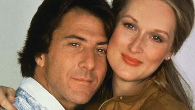 Dustin Hoffman and Meryl Streep co-starred in 1979 movie Kramer vs. Kramer.