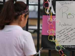 Students return after crash killed two