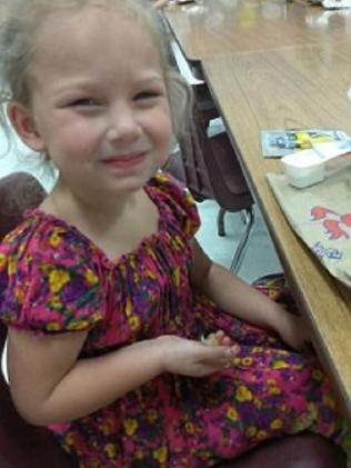 Brooke, six, was killed despite mum Joann Ward's efforts to save her. Picture: Facebook
