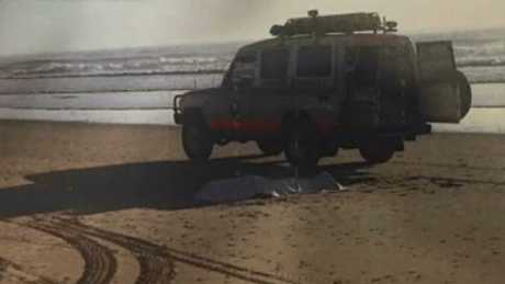 The vehicle where Lynette Daley was left to die. Picture: ABC