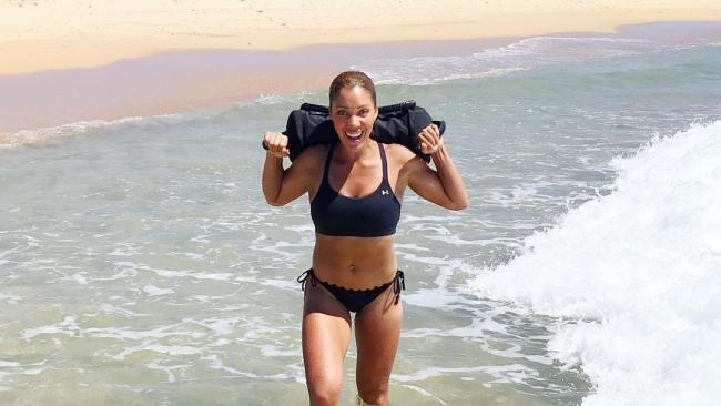 Australian Survivor contestant, podiatrist and PT, Odette Blacklock. Image: Supplied
