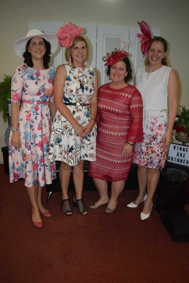 Image for sale: Katie Barrett, Olivia Clifford, Donna Norton and Matilda Fairley.