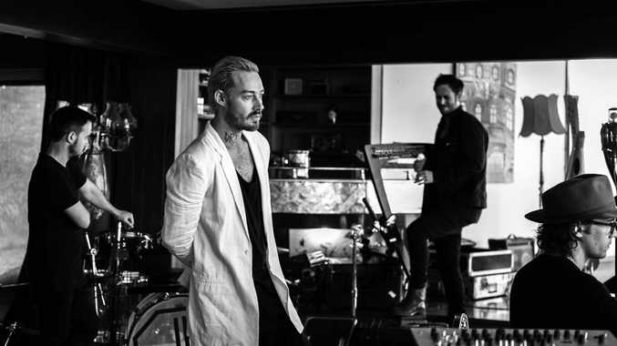 EASYBEATS TRIBUTE: Daniel Johns working with his new band Boom Tish.