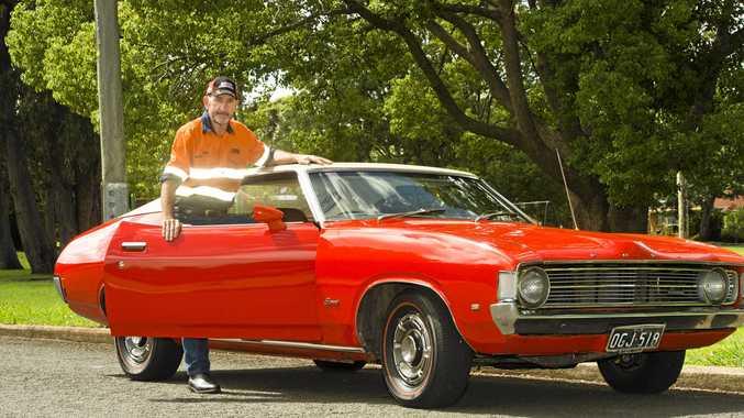 Toowoomba's Tony Murphy with his XA Fairmont Hardtop.