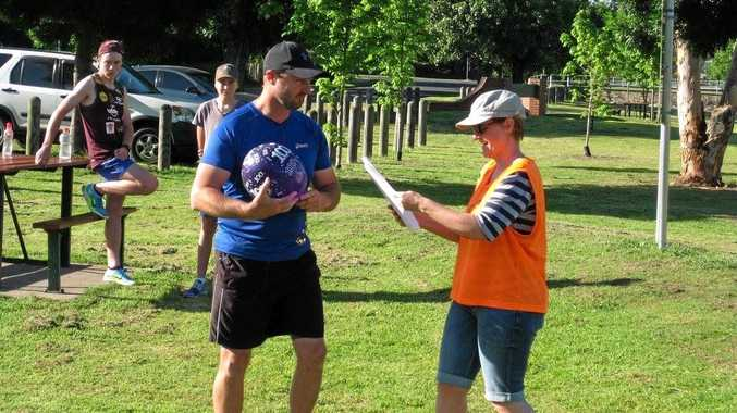 STAMINA: Two milestones were celebrated on Saturday at parkrun including Troy Kemp's 100th run.
