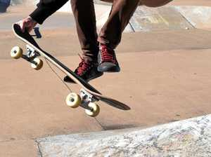 Coast teen hit by car while riding skateboard