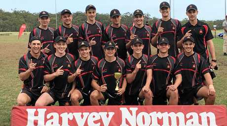 The Rockhampton Grammar School 18 boys won the All Schools Touch title in Brisbane.