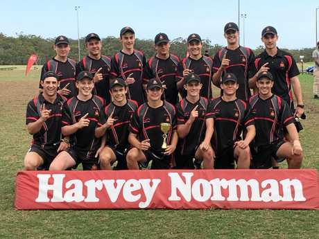 The Rockhampton Grammar School 18 boys won the All Schools Touch title in Brisbane.