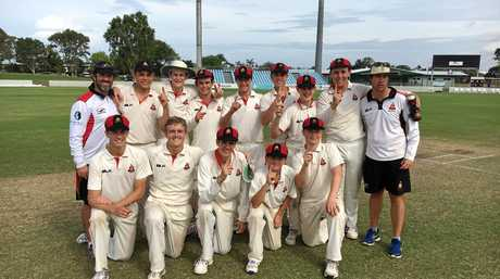 The Rockhampton Grammar School's First XI are the North Queensland T20 champions.