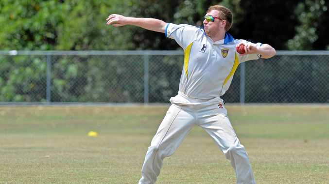 TOUGH TASK: Sam Eiby and his Nambour team-mates will take to the crease against Caboolture.