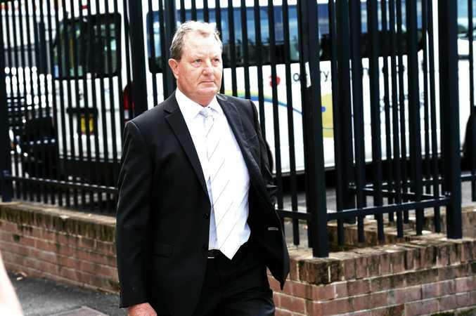 Glenn Allan Taylor leaves Lismore Local Court.