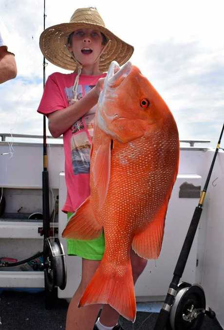 Rainbow Escape Charter Got a great bag of quality reefies last Sunday. One of the highlights going to 12 a year old crew member with a nice 10kg Red which he fought and landed on his own.