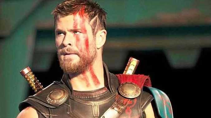 HAIRCUT: Chris Hemsworth as Thoir, after a change of style, in Thor : Ragnarok.