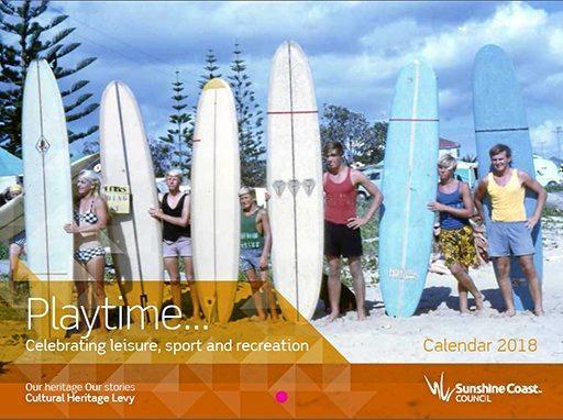Playtime 2018 heritage calendar.
