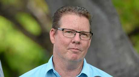 Labor candidate for the seat of Rockhampton, Barry O'Rourke.
