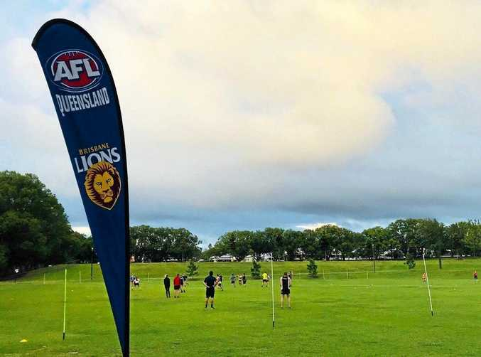 AFLQ Darling Downs The AFL 9s competition will run every Wednesday afternoon at Queensland Park.