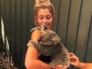 Paris Jackson is 'grateful' for koala cuddle on Hamo