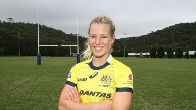 Emma Tonegato from the Australian women's sevens team