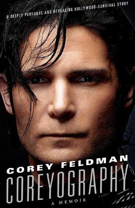 Corey Feldman's 'Coreyography' book cover.