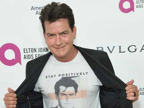 Charlie Sheen has denied the allegations. Picture: Jamie McCarthy/Getty Images for EJAF