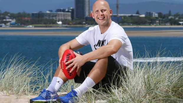 Gary Ablett has returned to Geelong. Picture: Nigel Hallett