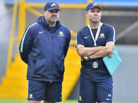 Postecoglou is refusing to discuss his plans beyond the Honduras play-off matches.