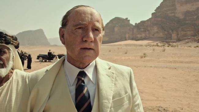 Kevin Spacey in All the Money in the World.