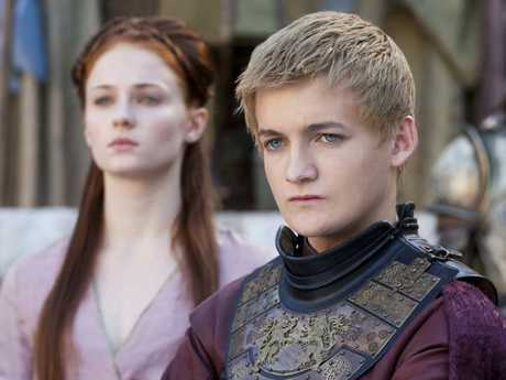 Turner (left) was just 15 when she found fame as Sansa Stark in Game of Thrones.