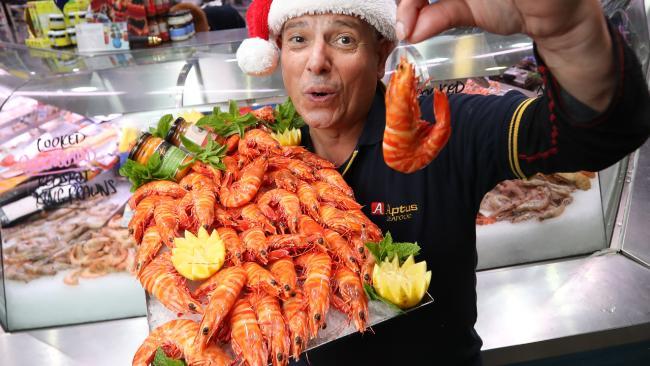 Prawns prices are set to soar this festive season. Picture: Alex Coppel.