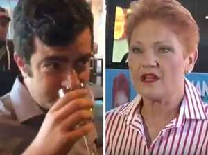 Dastyari using racist attack to 'sell book' says Hanson