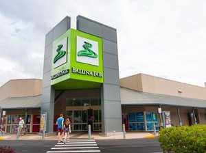 Replica gun pointed at shopping centre security guard