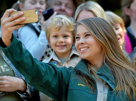 Bindi Irwin celebrates her 19th birthday with family and friends at Australia Zoo.