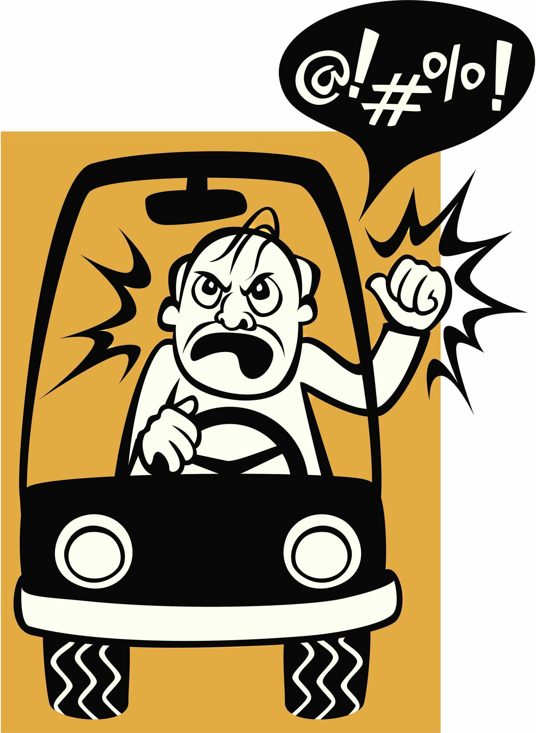 ROAD RAGE: A sense of entitlement on four wheels.