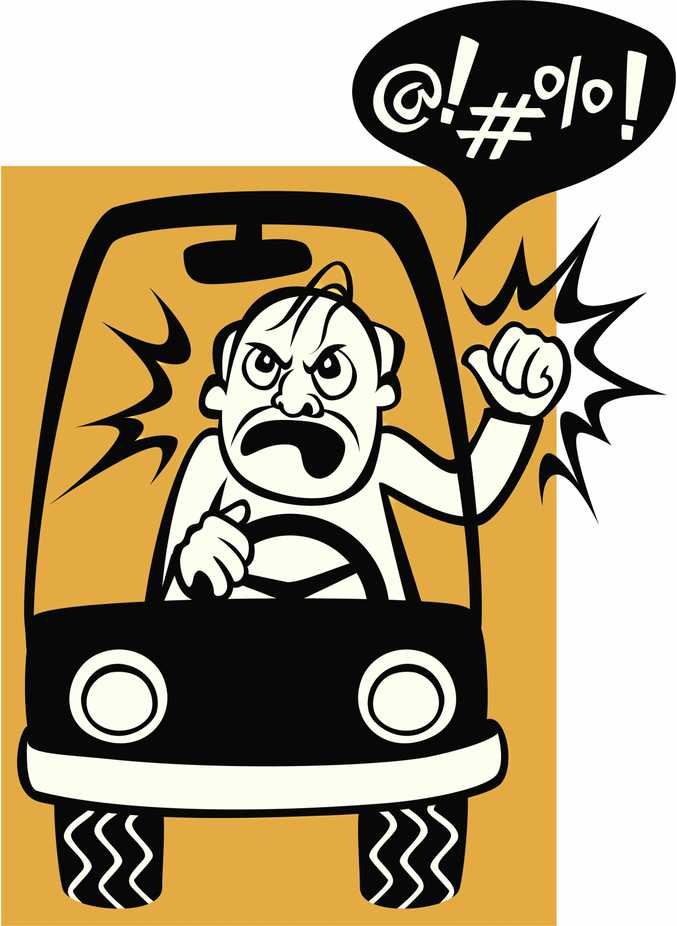 ROAD RAGE: A sense of entitlement on four wheels.